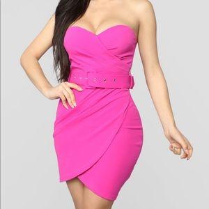 Fashion Nova new fushia dress